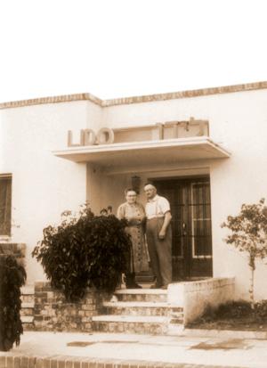 Das Gästehaus Lido in Nahariya