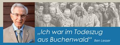 Holocaustüberlebender Ben Lesser in Bad Liebenzell
