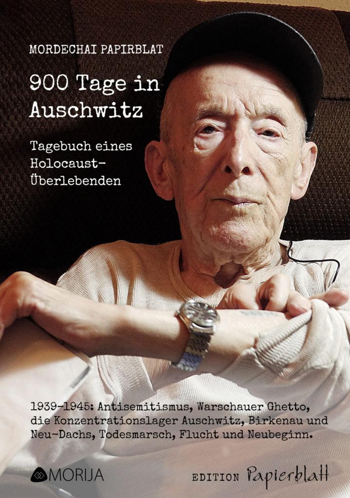 """Cover des Buchs """"900 Tage in Auschwitz"""""""
